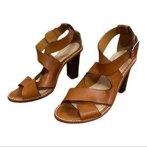 Loeffler Randall Evie HVA Leather Heeled Sandals